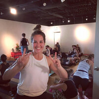 Certified + Professional Yoga Instructor teaching Vinyasa Yoga Flow from Kelowna, BC.