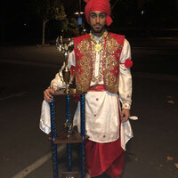 Dance Instructor who teaches Bhangra professionally to students of all ages. Bhangra is a Punjabi folk dance from India.
