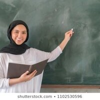 High school student, that is fluent in three languages and can right in Arabic and English.