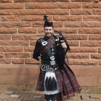 Scott Garden Bagpipe Instructor. 1st class honours BMUS Traditional Music Degree from the RCS