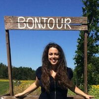 Student at the master's degree in education gives french courses in Shawinigan.